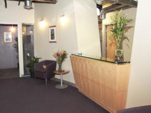 Virtual Office Miami Reception