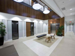Executive Office Raleigh Lobby
