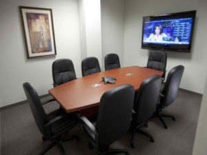 Executive Office Raleigh Conference room