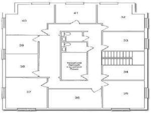 Executive Office Greensboro Floor Plan 2