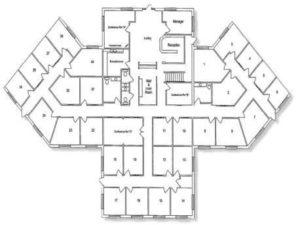 Executive Office Greensboro Floor Plan