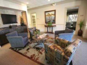 Executive Office Greensboro Lobby